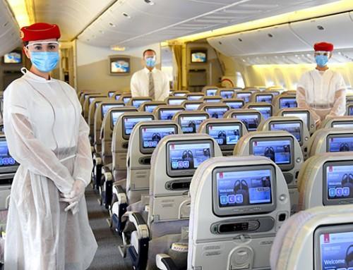 Emirates, yolcuları ve personelleri için COVID-19 güvenlik önlemlerini artırdı